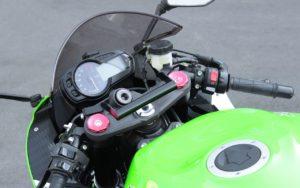 ZX-6R 2019年モデルのカメラステー